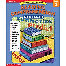 Scholastic Reading Comprehension Workbook Grade 1
