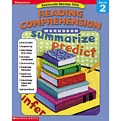 Scholastic Reading Comprehension Workbook Grade 2