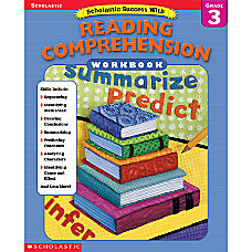 Scholastic Reading Comprehension Workbook Grade 3