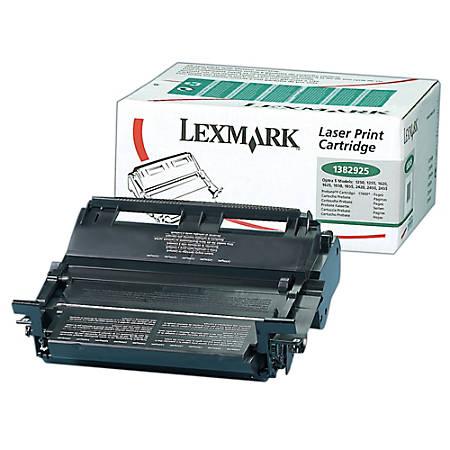 Lexmark™ 1382925 High-Yield Return Program Black Toner Cartridge