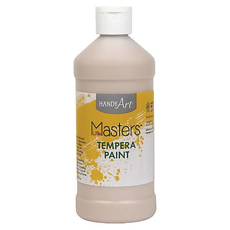 Handy Art 16 oz. Little Masters Tempera Paint - 16 fl oz - 1 Each - Peach