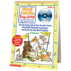 Scholastic Word Family Sing Along Flip
