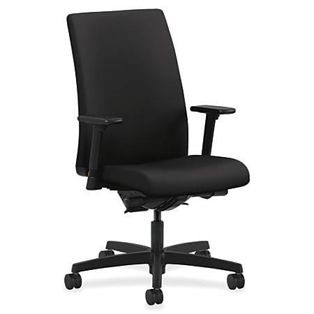 HON® Ignition® Mid-Back Task Chair, Black