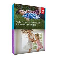 Adobe Photoshop Premier Elements 2018 Product