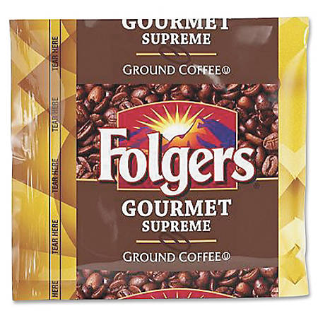 Folgers® Gourmet Supreme Ground Coffee, 1.8 Oz., Carton Of 42 Bags