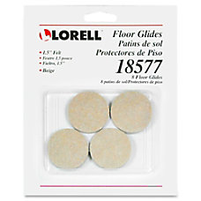 Lorell Self Stick Round Felt Floor