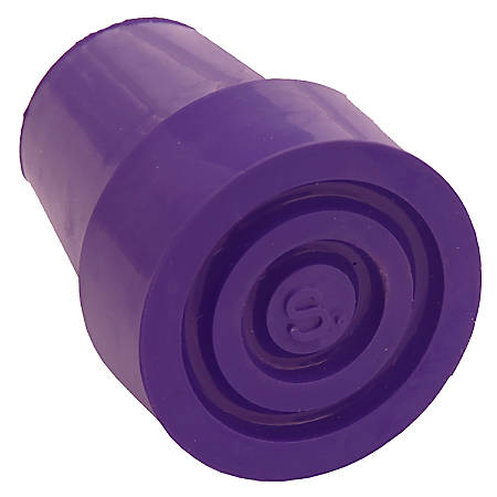 Switch Sticks® Replacement Walking Stick Ferrule Cane Tip, Violet