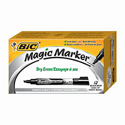 BIC Magic Marker Dry Erase Markers