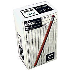 Dixon Pencils 2 Soft Lead Box