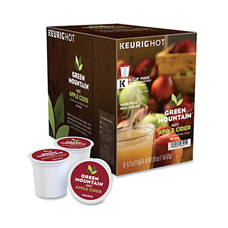 Green Mountain Coffee® Naturals Hot Apple Cider Single-Serve K-Cups®, Box Of 24