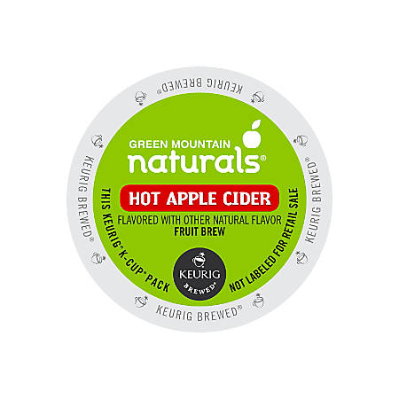 Green Mountain Coffee® Naturals Hot Apple Cider K-Cup® Pods, Box Of 24 Pods