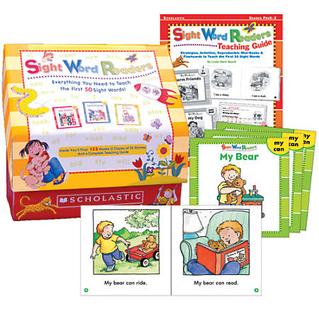 Scholastic sight words readers box set by office depot officemax scholastic sight words readers box set fandeluxe Image collections