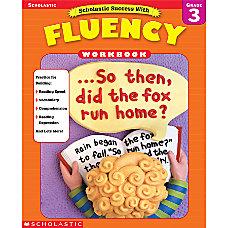 Scholastic Fluency Workbooks Grade 3