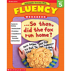 Scholastic Fluency Workbooks Grade 5