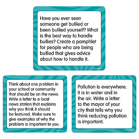 """Carson-Dellosa™ Story Starters: Opinion Curriculum Cut-Outs, 6"""" x 6 1/2"""", Pack of 36"""