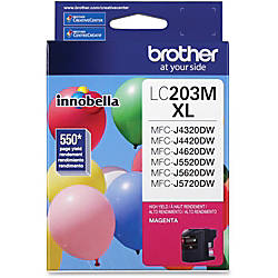 Brother Genuine Innobella LC203M High Yield