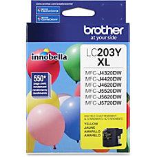 Brother Genuine Innobella LC203Y High Yield