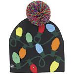 Lotsa Lites! Christmas LED Knit Hat, Assorted Designs