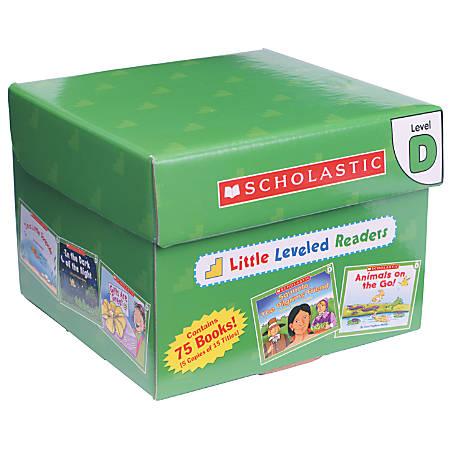Scholastic Little Leveled Readers Box Set — Level D