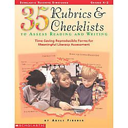 Scholastic 35 Rubrics Checklists To Assess
