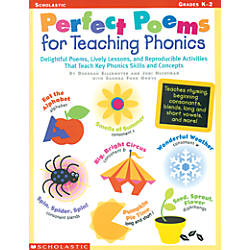 Scholastic Perfect Poems For Teaching Phonics