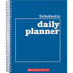 Scholastic Undated Daily Planner