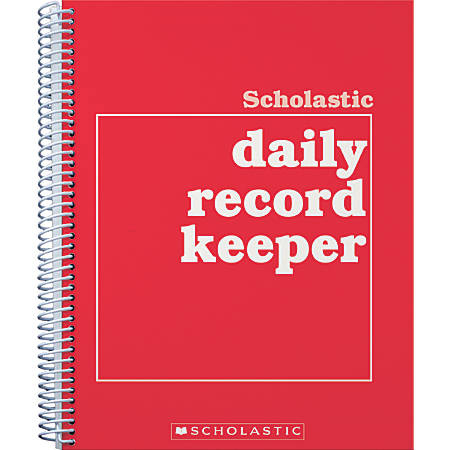 Scholastic Undated Daily Record Keeper
