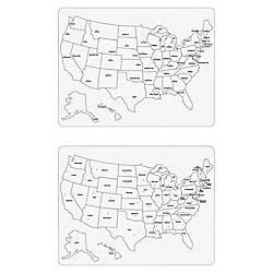 Creativity Street Large USA Map Whiteboard