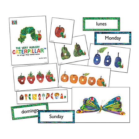 Eric Carle™ The Very Hungry Caterpillar Learning Cards, Set Of 87