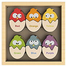 BeginAgain Toys Color N Eggs Matching