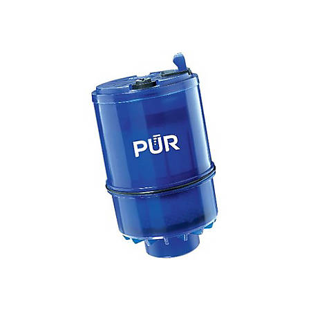 Pur Advanced Faucet Mount MineralClear Replacement Water Filter, 2 Pack - Blue