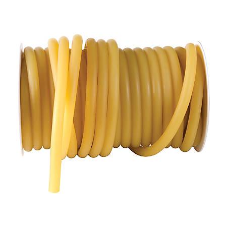 "DMI® Reel Latex Tubing, 50' x 5/16"", Yellow"