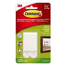 Command Medium Picture Hanging Strips 2
