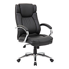 Boss Office Products LeatherPlus High Back