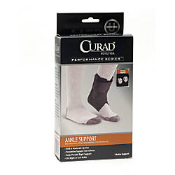 CURAD Ankle Supports With Stays Black