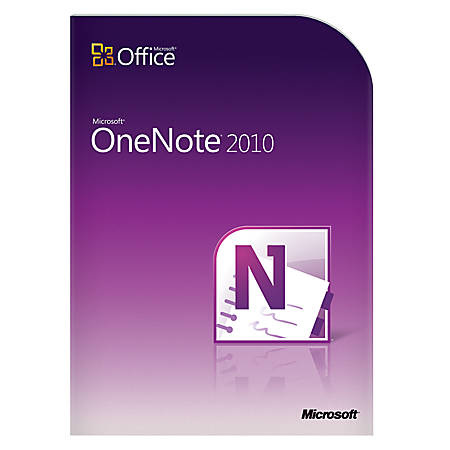 Microsoft OneNote 2010 - Complete Product - 1 PC - Organizer - DVD-ROM - English - PC