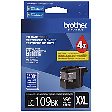 Brother Genuine LC109BK Super High Yield