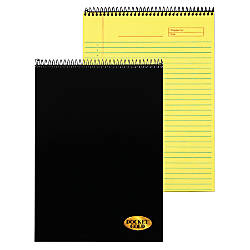 TOPS Docket Gold Wirebound Writing Tablet