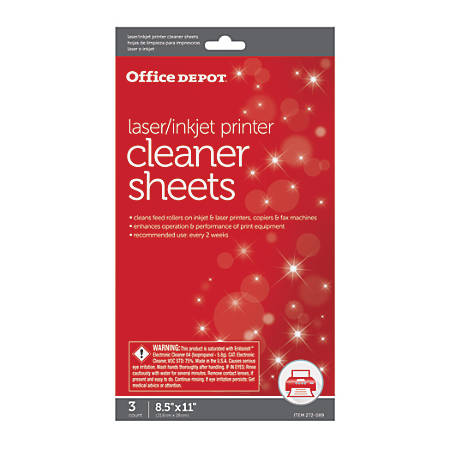 Office Depot® Brand OD2537 Printer/Copier/Fax Cleaning Kit