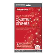 Office Depot nbspBrand PrinterCopierFax Cleaning Kit