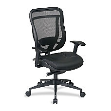 Office Star Space 818A Executive Leather