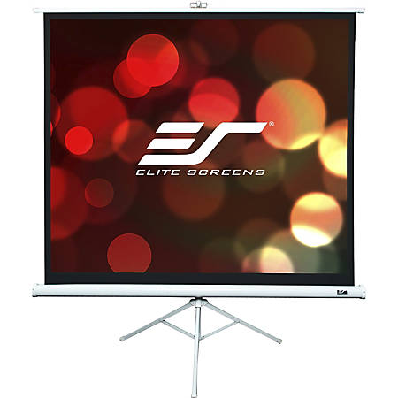 "Elite Screens 136"" Portable Tripod Projector Screen"