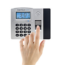 Pyramid TimeTrax TTELITEEK Biometric Time Clock
