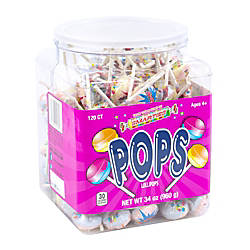 Smarties Pops 120 Pieces 34 Oz
