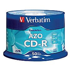 Verbatim CD R 700MB 52X DataLifePlus