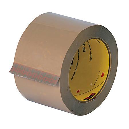 """Tartan™ 369 Hot Melt Carton Sealing Tape, 3"""" x 110 Yd., Tan, Case Of 24"""