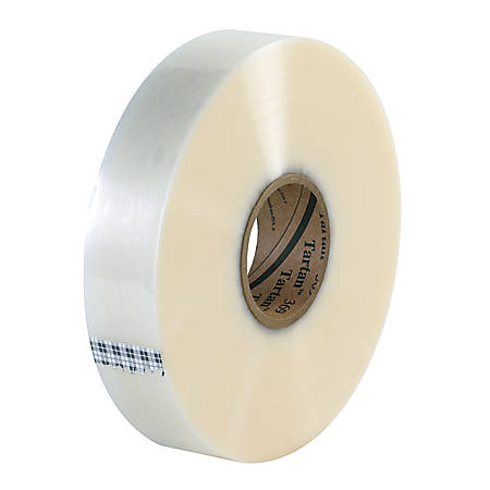 "Tartan™ 369 Hot Melt Carton Sealing Tape, 2"" x 1,000 Yd., Clear, Case Of 6"