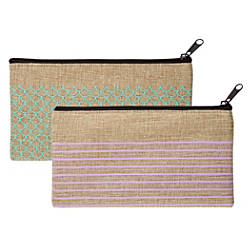 Office Depot Brand Burlap Pencil Pouch