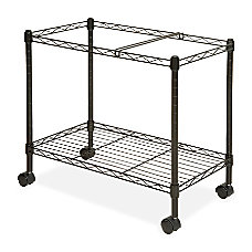 Lorell Mobile Wire File Cart 205