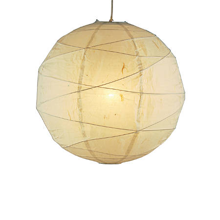 Adesso® Orb Pendant Ceiling Lamp, Medium, Natural